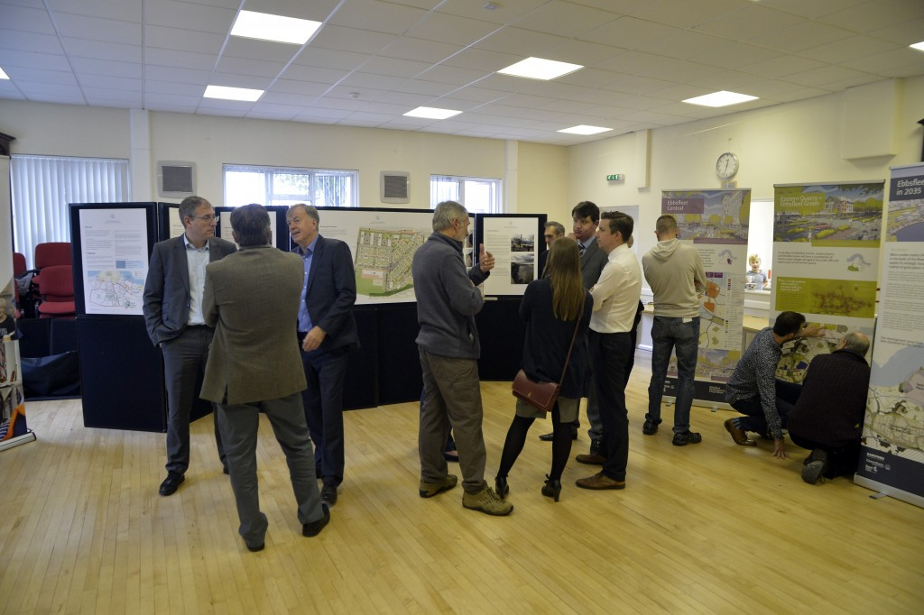 Ebbsfleet Garden City Open Day held in Northfleet