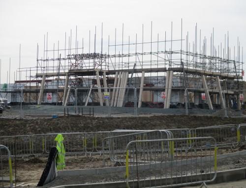 Ebbsfleet Garden City's first pub is well under way