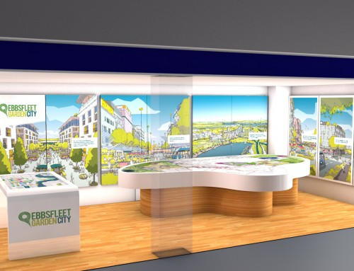 See the new Ebbsfleet Garden City visitor Information Centre – opening soon