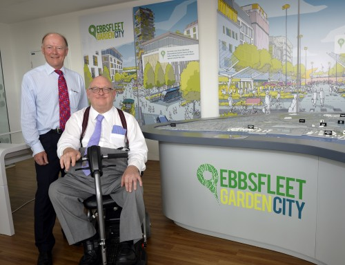 New Information Centre opens in Ebbsfleet Garden City