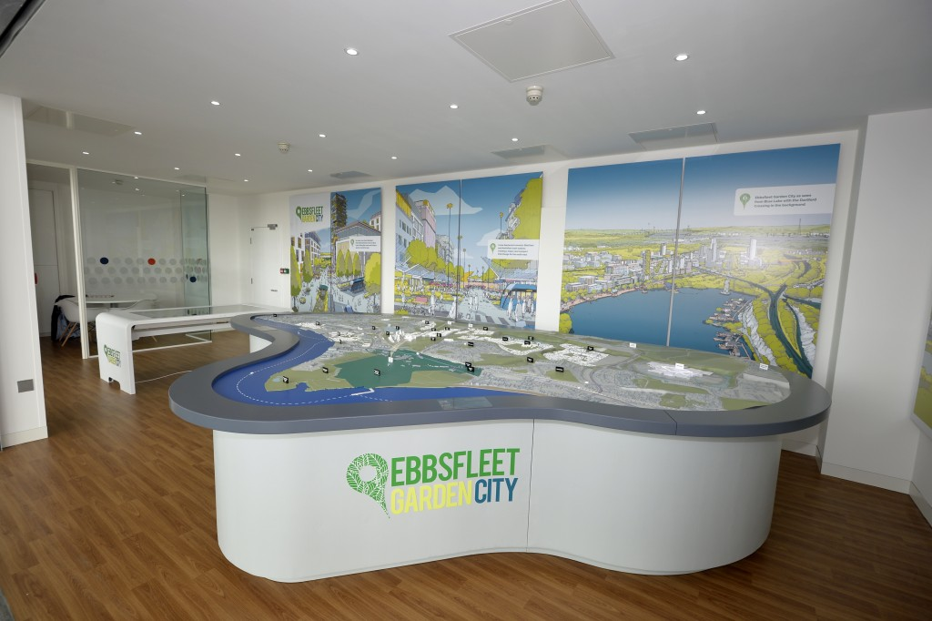New Ebbsfleet Garden City Information Centre Opens to the public