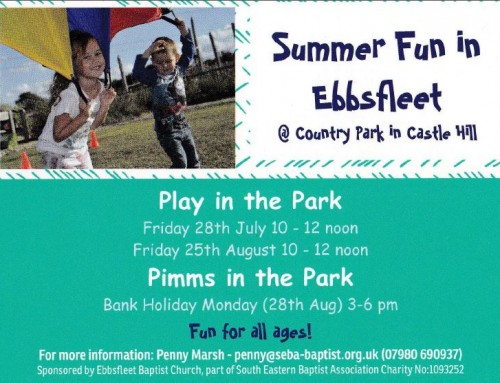 Ebbsfleet Garden City fun in the park