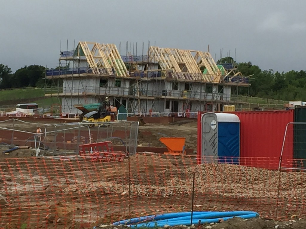 Persimonn's new show home in Castle Hill is coming along well
