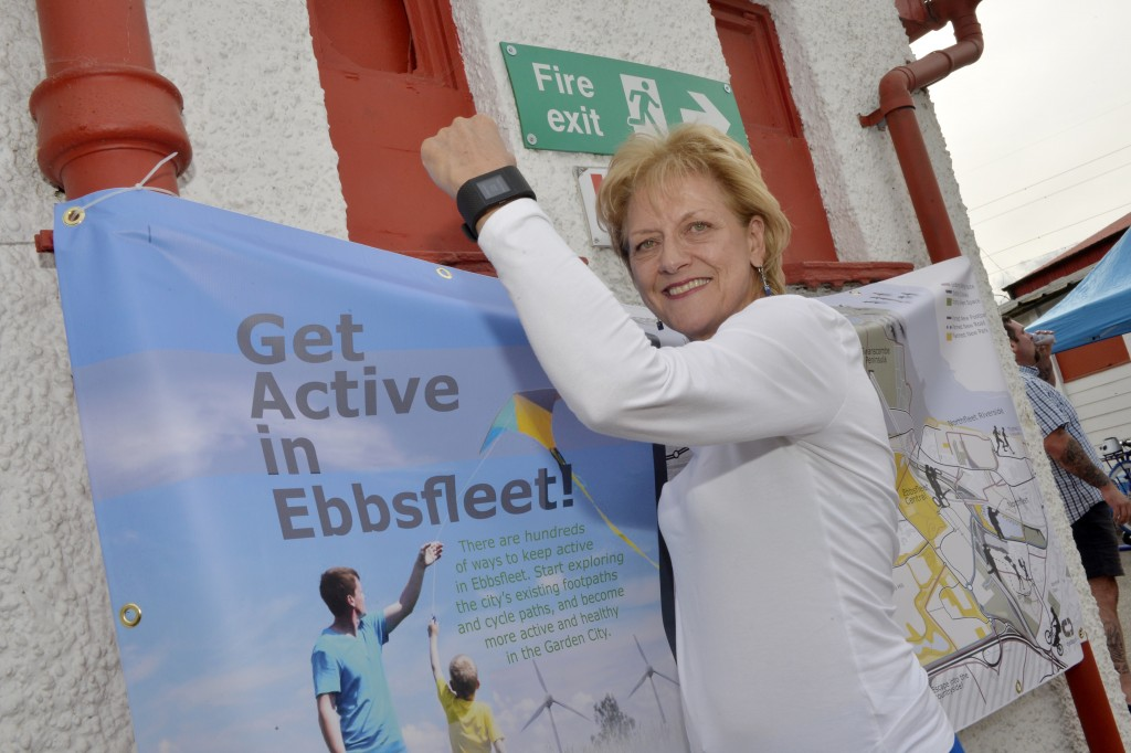 Up to 100 people to have fitness monitored in Ebbsfleet Garden City Healthy New Towns project