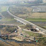 Springhead Bridge from drone