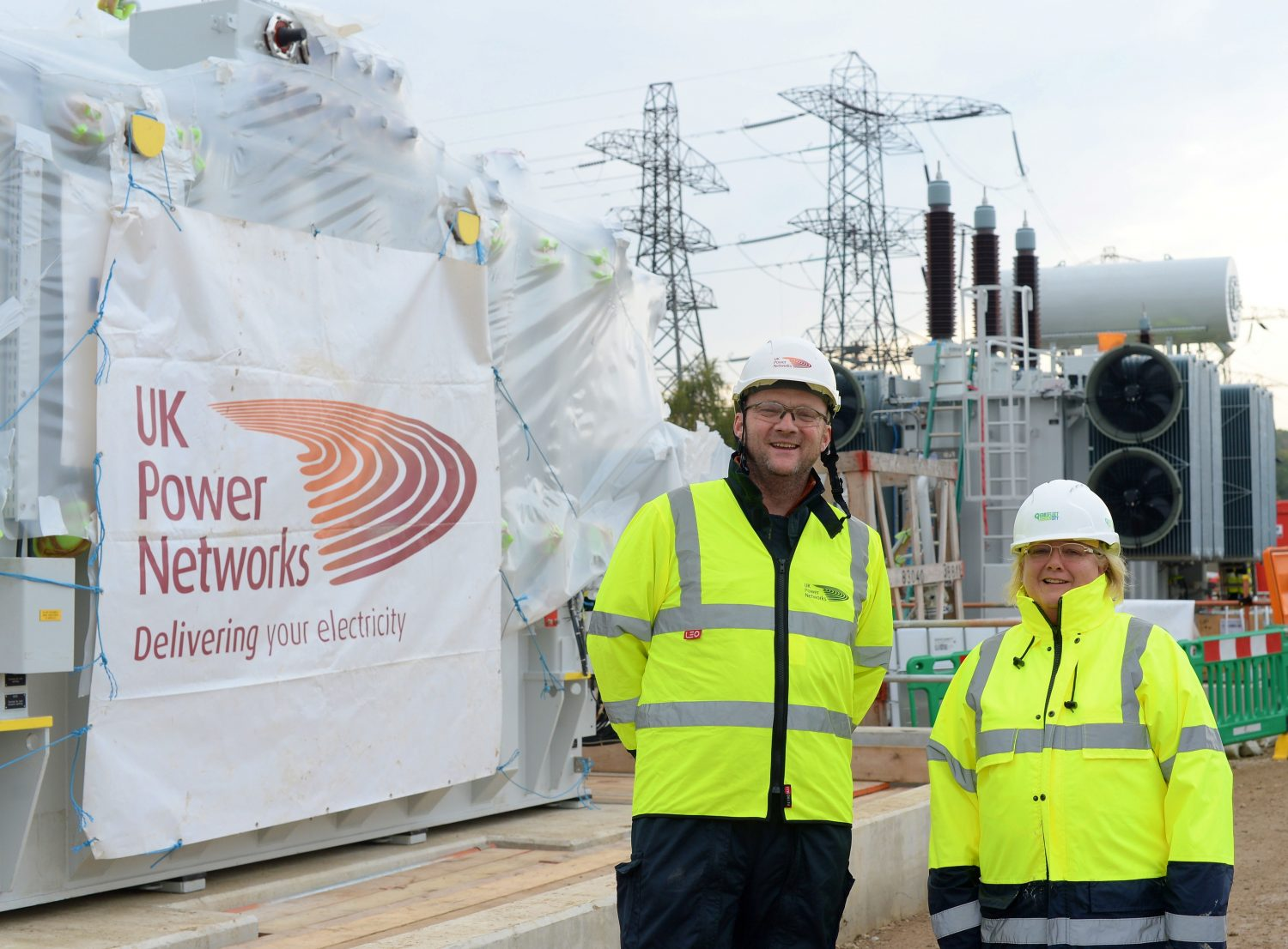 Power transformers reach new home