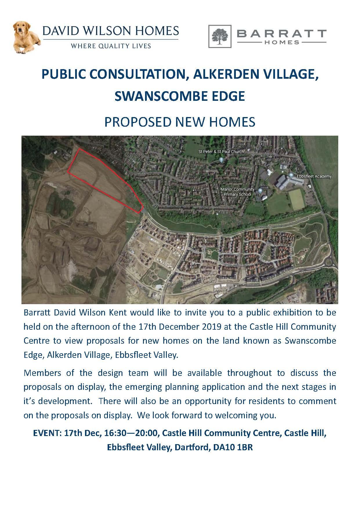 Swanscombe Edge Public Exhibition