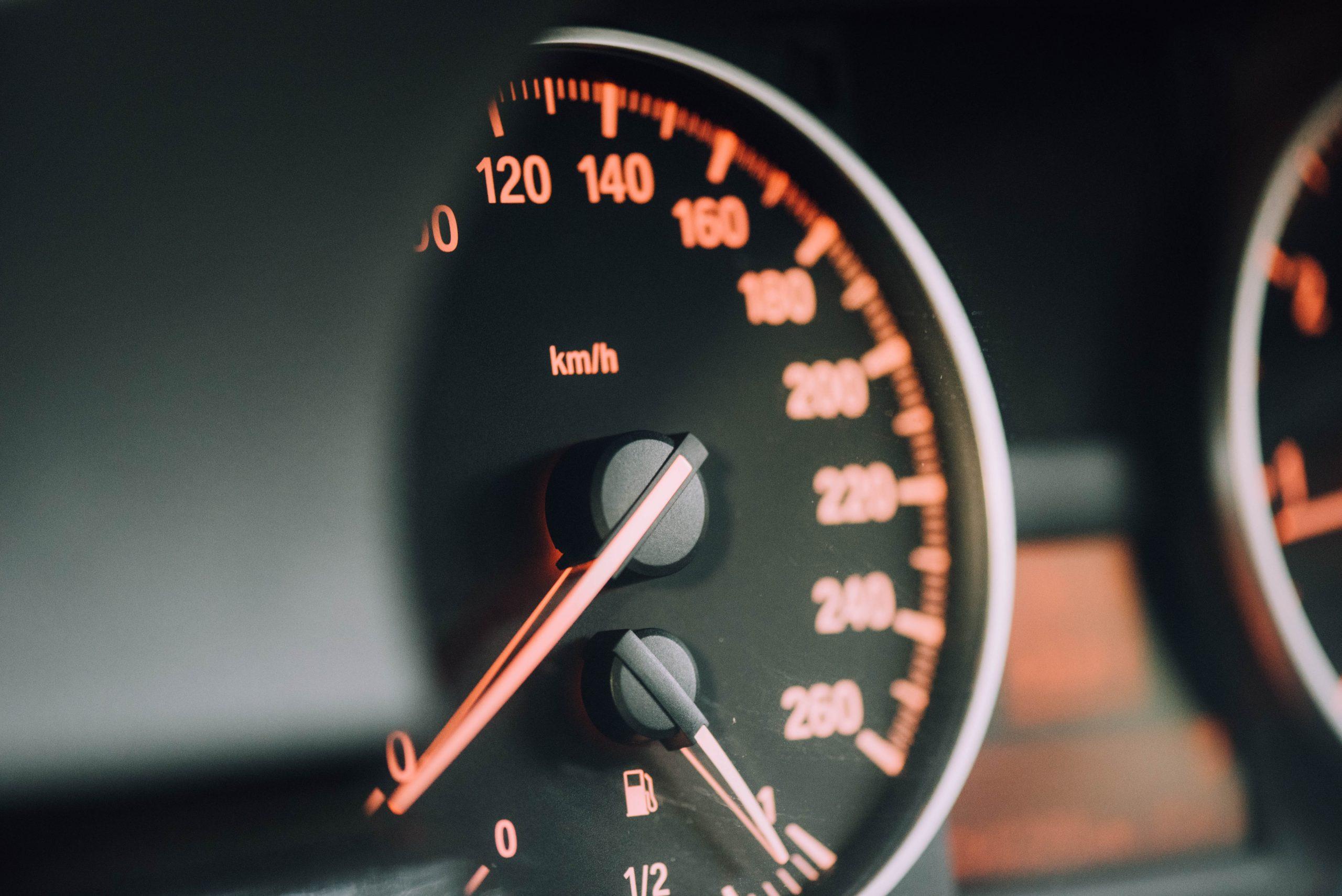 A speedometer