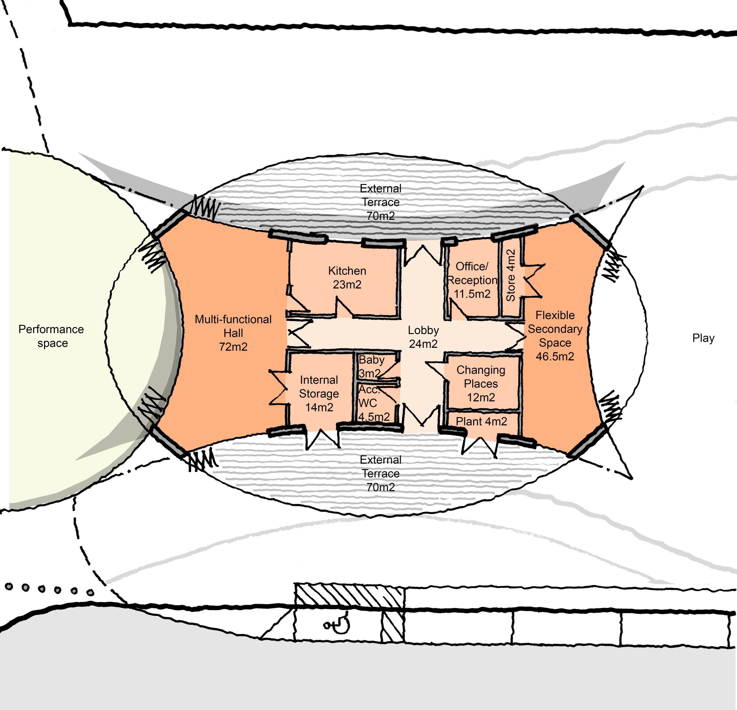 Site A - Scheme 3 - Proposed Plan
