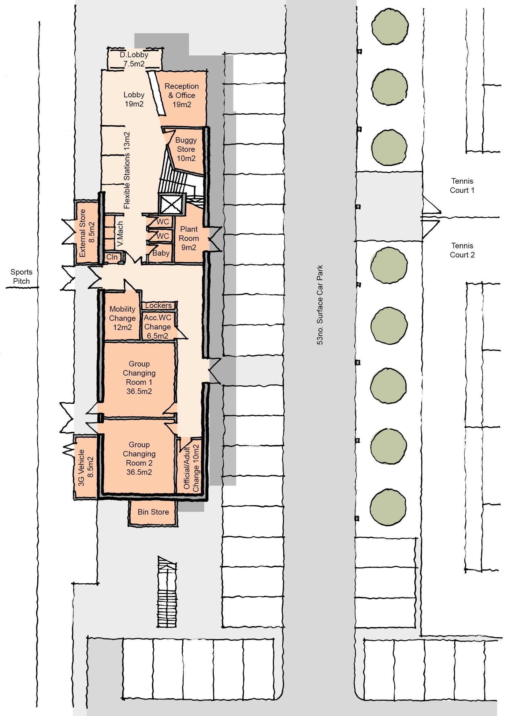 Site B - Scheme 4 Proposed Plan