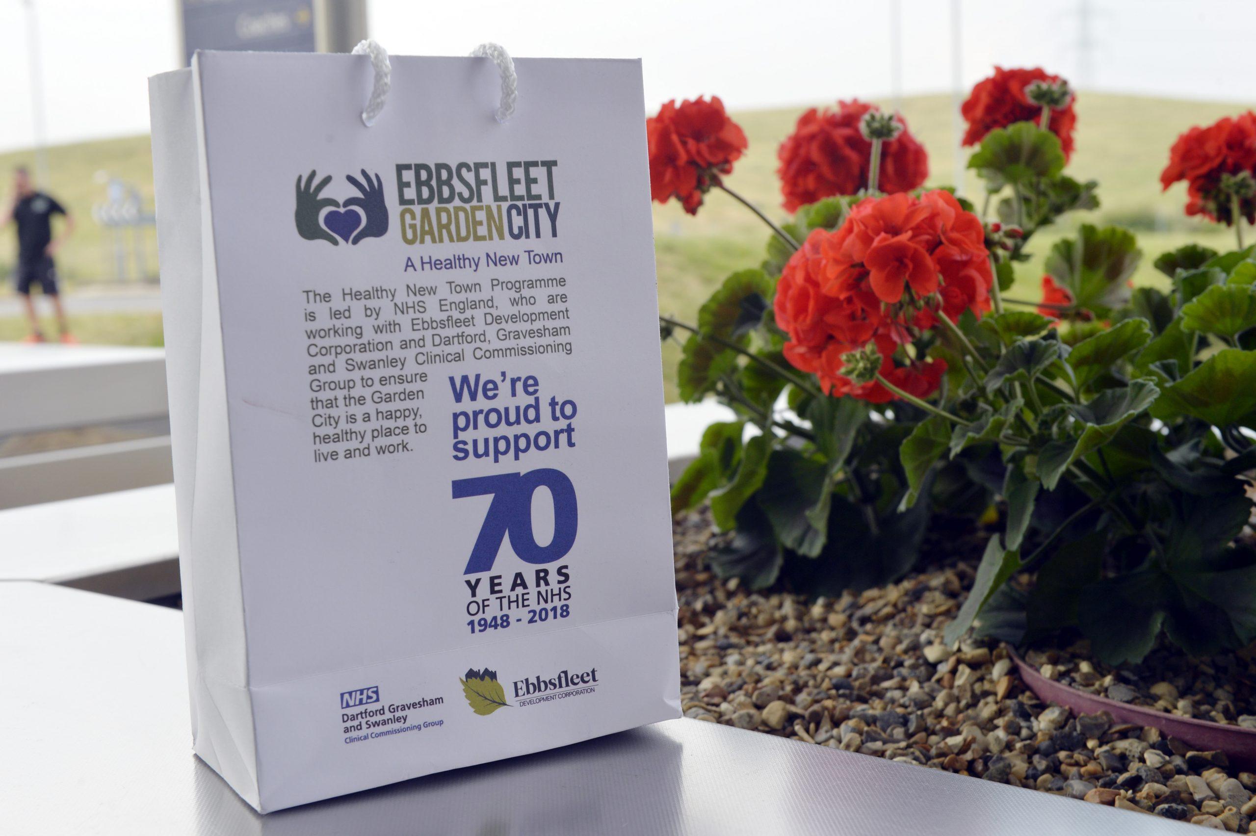 An Ebbsfleet Garden bag