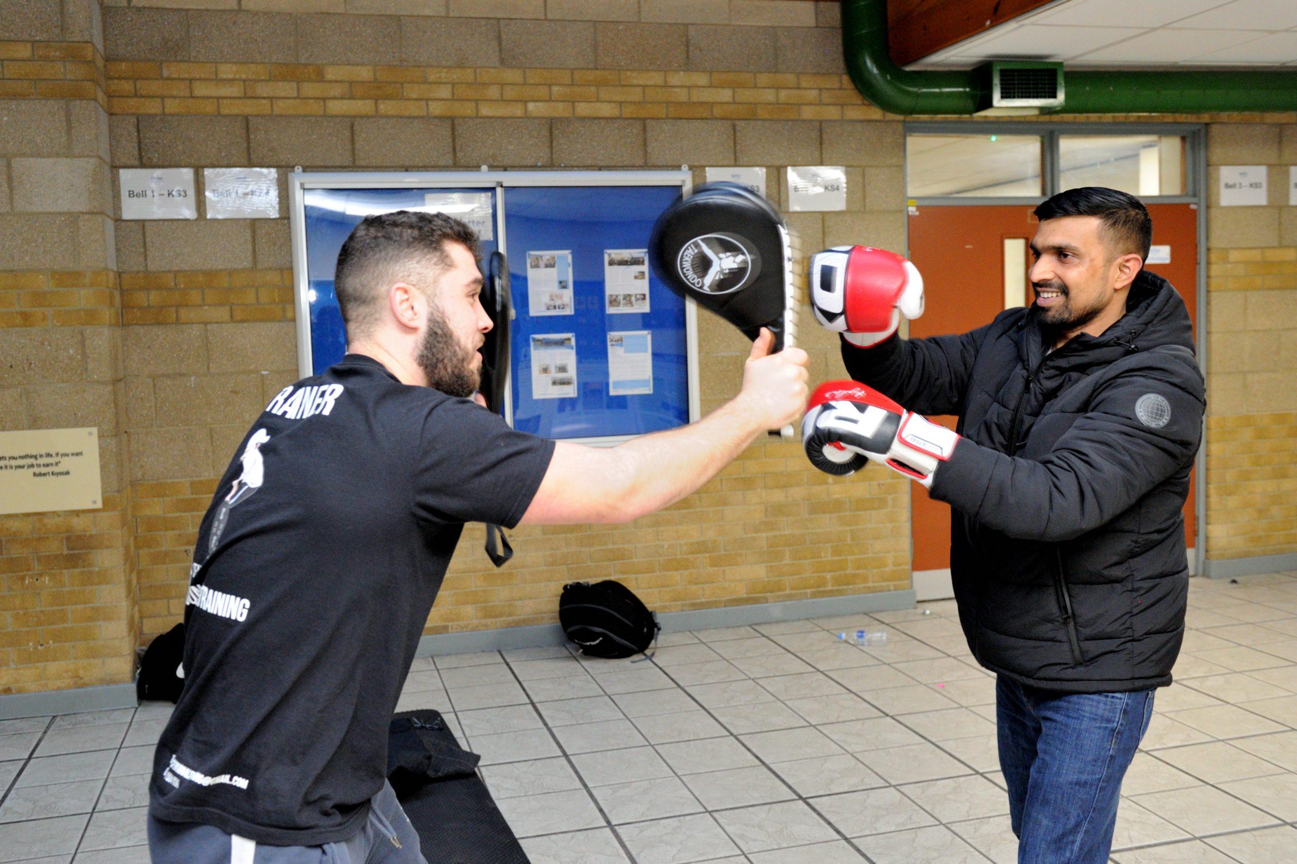 Boxing at the Freshtival