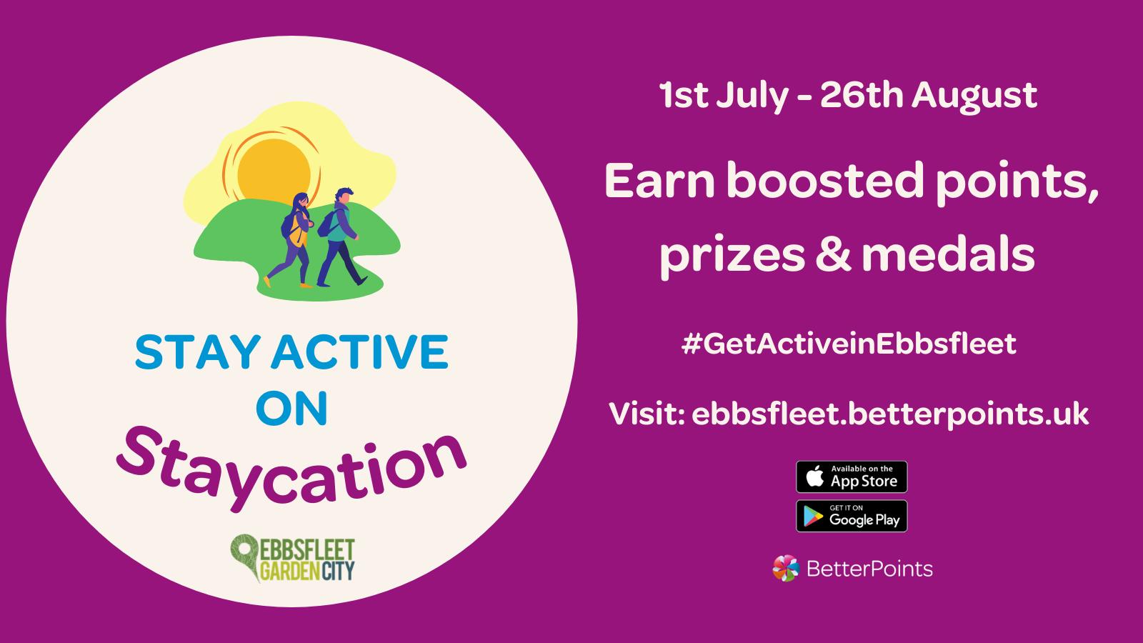 Ebbsfleet Stay Active on Staycation